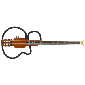 ARIA AS-619B Sinsinido bass guitar Mahogany incl. headphone