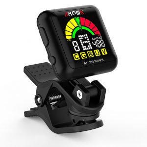 AROMA AT-102 Clip-on Chromtatic Tuner. rechargeable