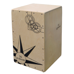 DG CAJON CIGANO 49x29x29cm Birch plywood / birch plywood ( new )