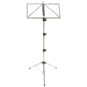 DIXON/HAMILTON DIX-KB380FNK Music stand heavy nickle w/bag