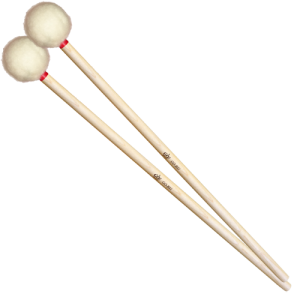 GO-BS1 timpani mallets birch medium red