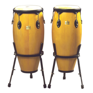 GO-CM909B Conga set 10 + 11 incl. stand wood
