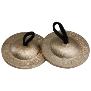 GO-FCS Finger cymbals set of 4 brass