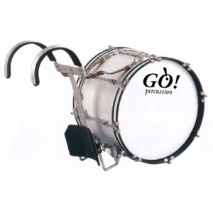 GO Percussion GO-JBMB1812 Marching Bassdrum