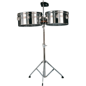 GO-LTB31 Timbale set 13+14 w/stand