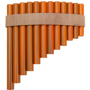 GO PF-12 Panflute curved 12 pipes plastic