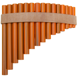 GO PF-15 Panflute curved 15 pipes plastic