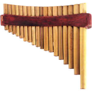 GO PFP-18C Panflute curved bamboo 18 pipes pro model