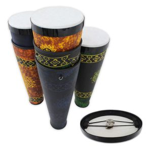 GO Percussion GO-SCDJ Stackable Conga Drum Jingle