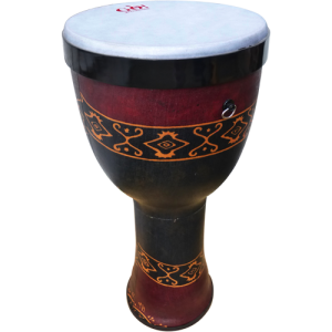 GO Percussion SCDPVC12 PVC Series djembe. screw-on base. pre-tuned skin