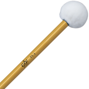 GO TT1 Timpani mallets tonkin handle hard (Black) p.pr.