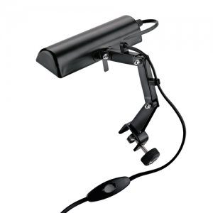 K&M 12250-013-55 Music stand light. black