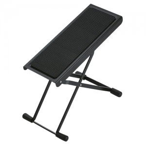K&M 14670-014-55 Guitar foot stool. black