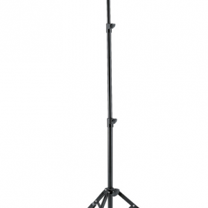K&M 14760-000-55 Guitar performer stand. black