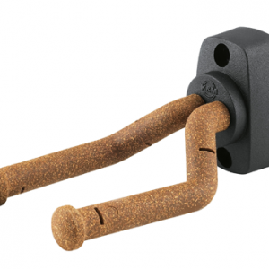 K&M 16280-000-95 Wall mount for guitar. w/cork grip