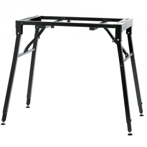K&M 18950-000-55 Keyboard stand table model. black