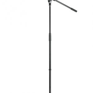 K&M 27105-300-55 Microphone stand. boom-arm. Black economy model