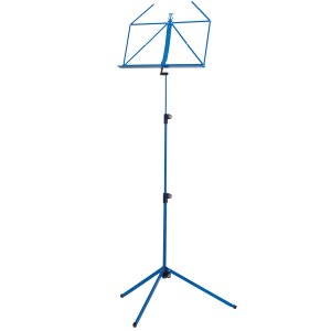 K&M 10010-000-54 Music stand. Blue