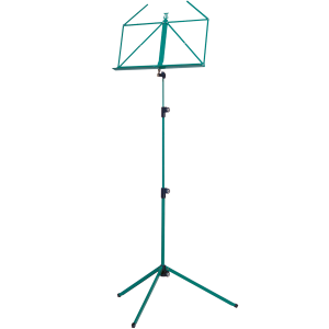 K&M 10010-000-60 Music stand. Green