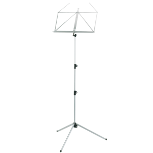 K&M 10010-000-78 Music stand. Silver Shadow