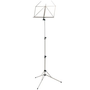 K&M 100/5 Music stand. Nickel