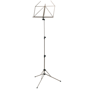 K&M 100/5 Music stand. Silver Shadow