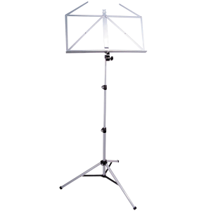K&M 10065 foldable music stand. Nickel