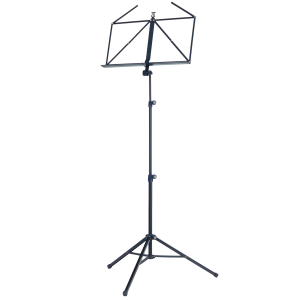 K&M 10065-000-55 foldable music stand. black
