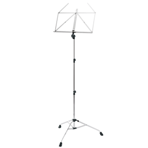 K&M 107 Music stand. Chrome