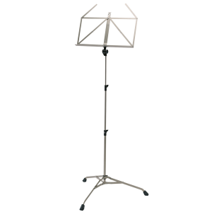 K&M 107 Music stand. Nickel