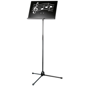 K&M 11865 Orchestra music stand 'Symphony'. Black