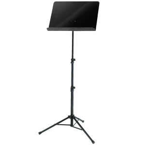 K&M 11870 Orchestra music stand. Black