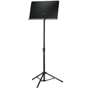 K&M 11888 Orchestra music stand. Black