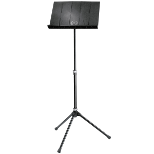 K&M 12120 Orchestra music stand. black