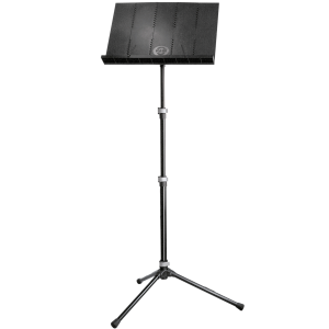 K&M 12125 Orchestra music stand. black
