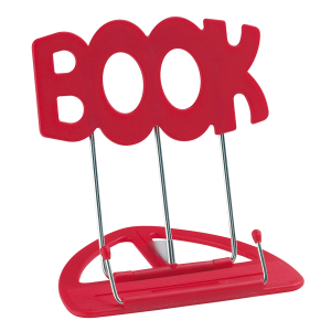 K&M 12440 Uni-Boy 'Book' table stand - Red