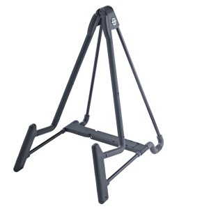 K&M 17581-014-55 'Heli 2' Electric Guitar stand. black