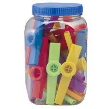 GO Percussion GO-KZC01 plastic kazoo ( box of 40 pcs. )