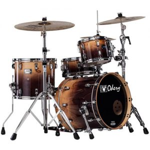 ODERY Eyedentity EYE18/MB/BF Jazz Shell Kit. 4-delig. Mappa Burl