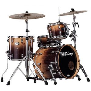 ODERY Eyedentity EYE20 Jazz Shell Kit. 4-delig. Mappa Burl