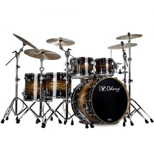 ODERY EYE402/BI/TB Eyedentity Rock Shell Kit. 6-delig. Tiger black burst