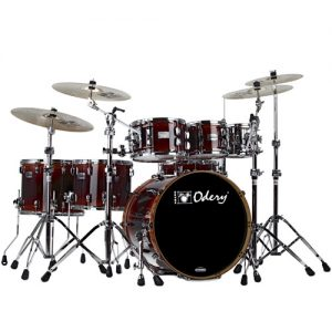 ODERY EYE502/BS/EX Eyedentity Super Rock Shell Kit. 7-delig. Bubinga/Sapela explosion