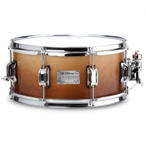 ODERY EYES1355/MA/IF Eyedentity Snaredrum 13x5.5 maple Imbuia fade