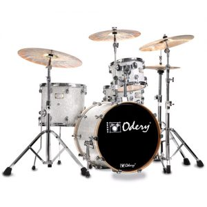 ODERY Fluence 20JZ/HW/NW Jazz drumset 4-delig. inclusief hardware