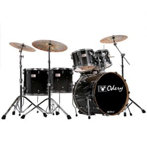 ODERY Fluence 401FS/BS fusion drumset 6-delig. inclusief hardware