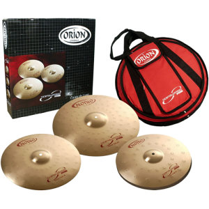 ORION RP50 Cymbal set Revolution Pro 14hh/16cr/20ri + free cymbal bag