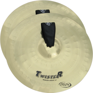 ORION TW14MB Twister Marching cymbal set 14'