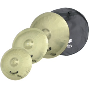 ORION TW90 Cymbal set Twister 14HH/16CR/20RD + free cymbal bag