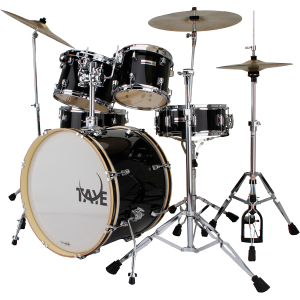 TAYE RP522J/JB RockPro Drum Kit. Hardware included. Jet Black
