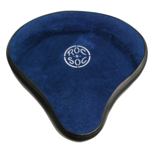 ROC-N-SOC RS-MSH-B Retro fit drum seat hugger. blue. with 9208 WNS lower part